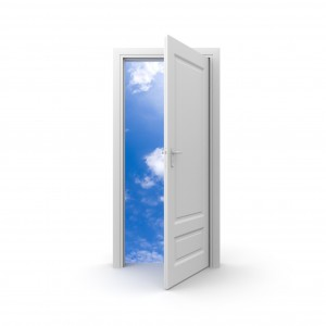 Door to a secure financial future